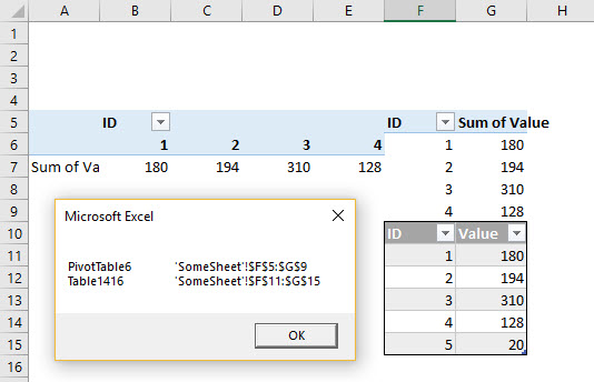 Identifying PivotTable Collisions – Daily Dose of Excel